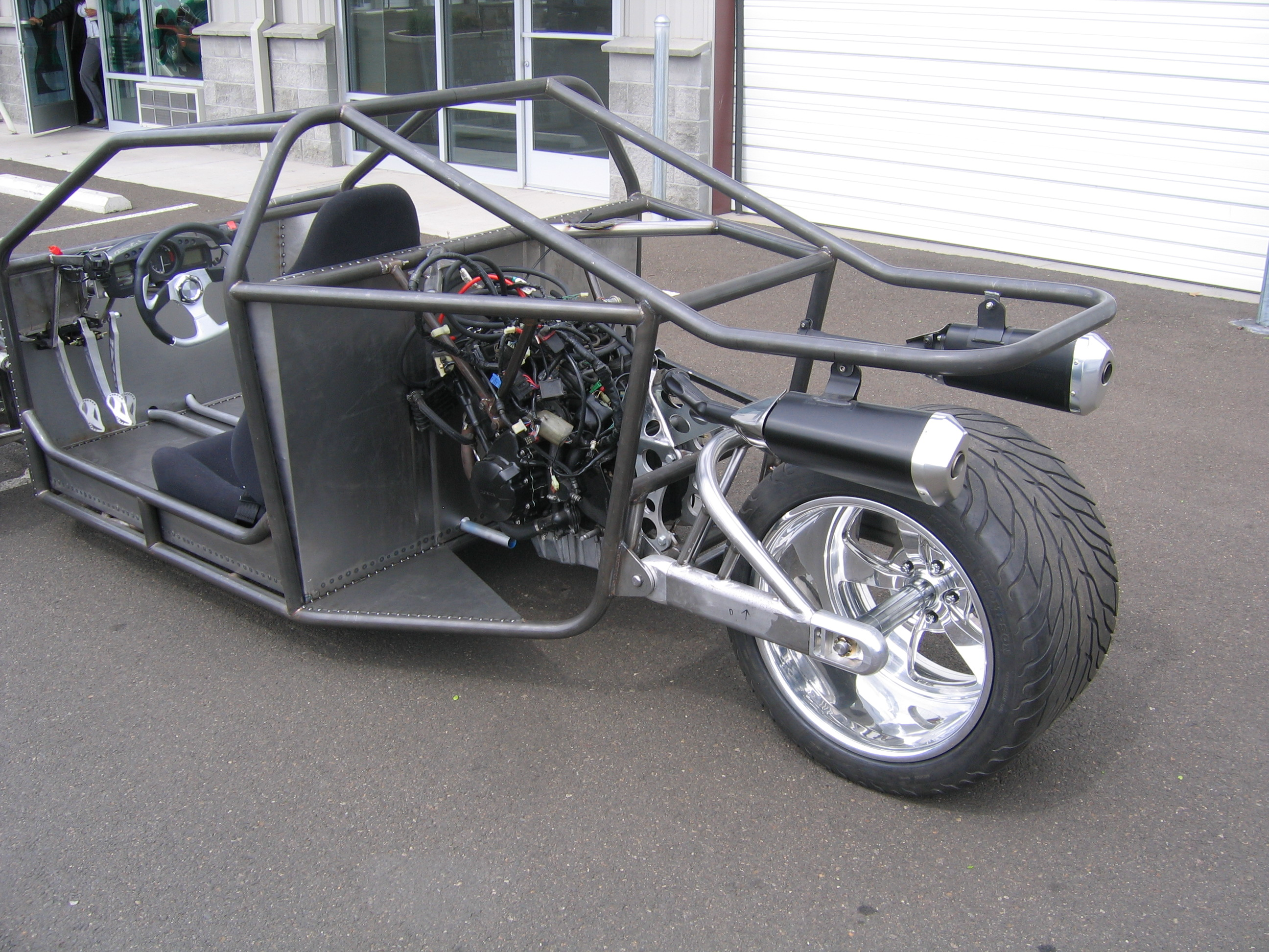 how to build a reverse trike frame | Amtframe org